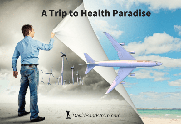 A healthy trip to paradise